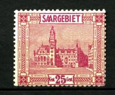 SARRE - 90 - 25c Rouge Et Jaune - Neuf N* - Très Beau - Unused Stamps