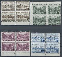 SERBIEN 46-49  VB **, 1941, Semendria In Randviererblocks, Postfrisch, Pracht, Mi. 80.- - Occupation 1938-45