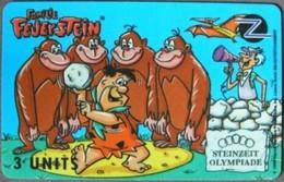 United States - GPT, Fake?, Familie Feuerstein - Steinzeit Olympiade - 9, CN 0000 - [3] Magnetic Cards