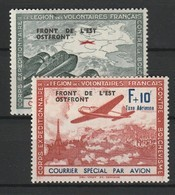 FRANCE LVF / L.V.F. (LEGION DES VOLONTAIRES FRANCAIS) 1942 YT N° 4 Et 5 ** - Guerres