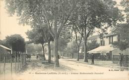 """CPA FRANCE 78 """"Maisons Laffitte, Avenue Mademoiselle Duménil"""" - Maisons-Laffitte"""