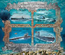 Mozambique 2013 Transport Submarines - Submarines
