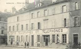 "/ CPA FRANCE 03 ""Moulins, Hôtel Des Postes"" - Moulins"
