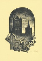 Ex Libris C. Bracke - Ryszard Balon - Ex-libris