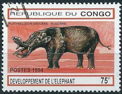Congo (Braz) 1994 - Mi 1415 - YT 990D ( Prehistoric Elephant ) - Congo - Brazzaville