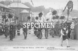 Cortége Des Saisons  1910 - Les Soleils - Ixelles - Elsene - Ixelles - Elsene