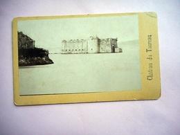 PHOTO CDV CHATEAU DE TAUREAU CARENTEC MORLAIX  BRETAGNE Cabinet CARLIERY FERDINAND CARLIER - Oud (voor 1900)