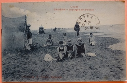 CARTE GRUISSAN - 11 - LA PLAGE A VOL D' OISEAU -SCAN RECTO/VERSO-13 - Autres Communes