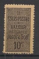 Algérie - 1899 - Colis Postaux CP N°Yv. 2c - 10c Noir Sur Jaunatre Type IV - Neuf Luxe ** / MNH / Postfrisch - Algérie (1924-1962)