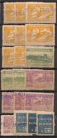 Algérie - 1943 - Colis Postaux CP N°Yv. 111 à 129 - Série Complète - Neuf * / MH VF - Colis Postaux