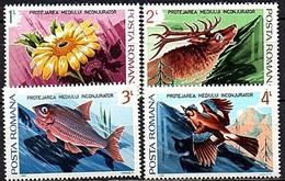 1984 Wildlife Fish Bird MNH Set Mi 4031-4 (158) - 1948-.... Republiken