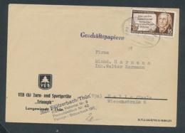 DDR  Alter Beleg-Bahnpost....Bedarf... ( Op3738  ) Siehe Scan - DDR