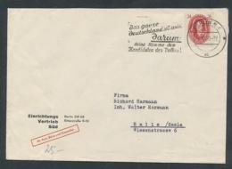 DDR  Alter Beleg-Bahnpost....Bedarf... ( Op3741  ) Siehe Scan - [6] Democratic Republic