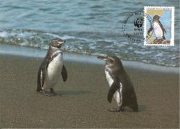1992 - GALAPAGOS - Penguin - Pingouin  WWF - Equateur