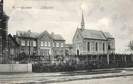 Hamme - L'Hopital (cliché F. Walschaerts 1908) - Hamme