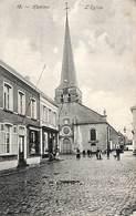 Hamme - L'Eglise Kerk (animatie Apotheek, Cliché F. Walschaerts 1908) - Hamme