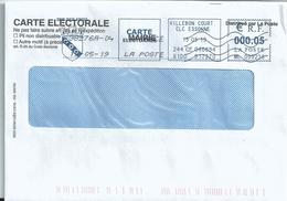 Ema Secap ML - Tarif Carte électeur - Postmark Collection (Covers)