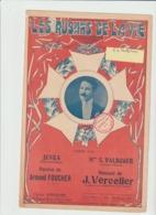(JUNKA ) LES RUBANS DE LA VIE , S VALROGER ,  Paroles ARMAND FOUCHER , Musique J VERCOLIER - Partitions Musicales Anciennes