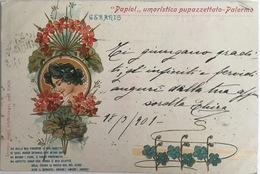 V 73171 - Palermo - Papiol ... Umoristico Pupazettato - Anno 1901 - Illustrators & Photographers