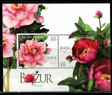 XB0406 Croatia 2010 Flowers S/S MNH - Croatia