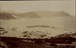 Photo Cp Gibraltar, Hafenansicht - Gibraltar