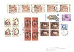 AFFRANCATURA MISTA CON NATALE 1976 E NATALE 1979 - Saint-Marin