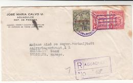 Panama / Postmarks / Red Cross Cinderellas / Belgium - Panama