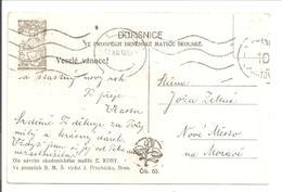 Dopisnice 27.12.1918 Franco - Tchécoslovaquie