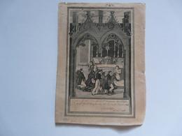 VIEUX PAPIERS - IMAGE RELIGIEUSE : Première Communion De Jules LION - 1828 - Images Religieuses