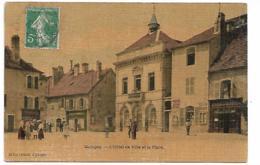 QUINGEY L'Hôtel De Ville Et La Place - Altri Comuni