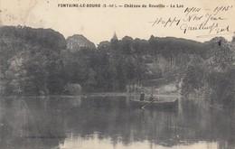 FONTAINE-le-BOURG (Seine-Maritime): Château De Gouville - Le Lac - France
