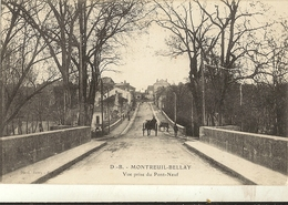 49 -  MONTREUIL-BELLAY - Vue Prise Du Pont Neuf   83 - Montreuil Bellay