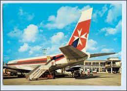 W7X70/ Malta Luqa Airport Flughafen Flughafen AK Ca.1970 - Aviation