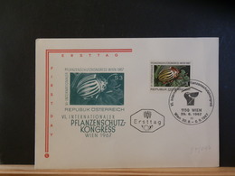 87/047 FDC AUTRICHE - Insects