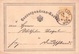 ÖSTERREICH - POSTKARTE 2 Kr 1873 LEOPOLDSTADT - CÖLN /ak726 - Stamped Stationery