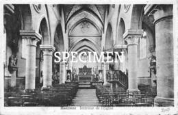Intérieur De L'Eglise - Hanzinne - Florennes
