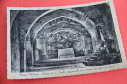 Rieti Poggio Mirteto La Chiesa S. Paolo Affreschi 1942 Ed. Bedeschi - Rieti