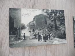 CPA 30 Gard Molières Sur Cèze Clet Rue Des écoles - Autres Communes