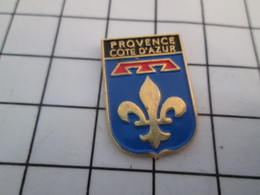 312B Pin's Pins / Beau Et Rare / THEME : AUTRES / PROVENCE CÔTE D'AZUR BLASON ECUSSON ARMOIRIES - Andere