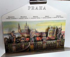 Carte à SYSTEME POP UP  - PRAHA - PRAGUE Illustrée Par V. KUBASTA   -   JARDIN VRTBA  - VRTBA GARDEN   (7) - Mechanical