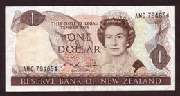 NEW ZEALAND - 1 Dollar (1985 1989) - Pick 169c - New Zealand