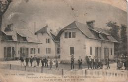 *** 73 *** Environs D'Alberville FONTAINE D'UGINES Cité Ouvrière Type Des Villas - SALE Timbrée - Andere Gemeenten