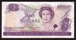 NEW ZEALAND - 2 Dollars (1985 1989) - Pick 170b - Nieuw-Zeeland