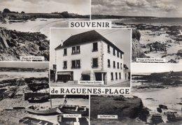 CPSM, Souvenir De Raguènes-Plage, Multivue, Hôtel Pierre Guillou - Altri Comuni
