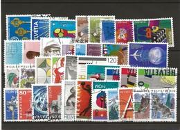 Lot Timbres Suisses Oblitéré 1993-1994 - Gebraucht