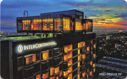 InterContinental Bandung Indonesia (ANG 082019) - Hotel Room Key Card, Hotelkarte, Schlüsselkarte, Clé De L'Hôtel - Hotelkarten