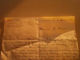 Ancien Document SOCIETE DES FANFARES DE POMMEROEUL - Collections