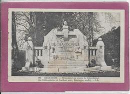 25.-   BESANÇON .-   Monument Au Comte De Chardonnet - Besancon