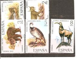 España/Spain-(MH/* )  - Edifil  2036-40  - Yvert  1691-95 - 1971-80 Nuevos & Fijasellos