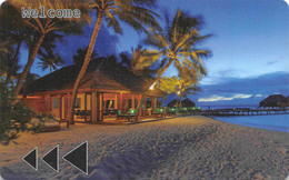Veligandu Island Resort - Maldives - Hotel Room Key Card, Hotelkarte, Schlüsselkarte, Clé De L'Hôtel - Hotelkarten